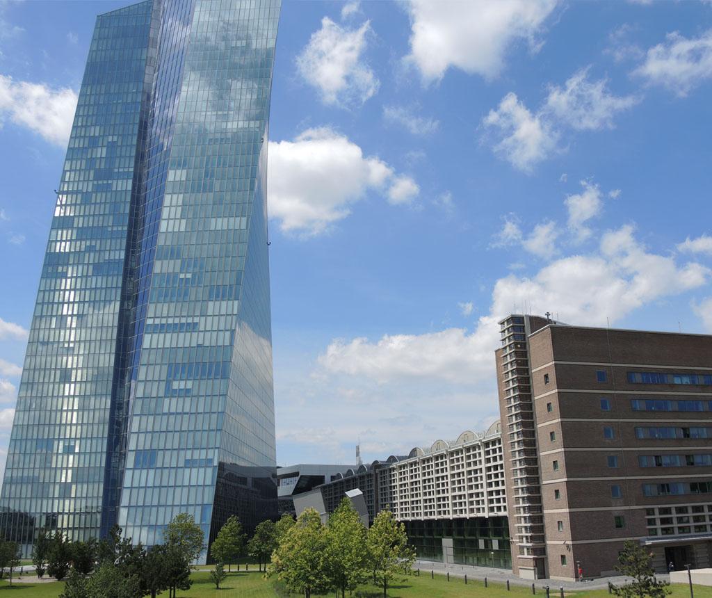 NEUBAU EUROPÄISCHE ZENTRALBANK, FRANKFURT AM MAIN
