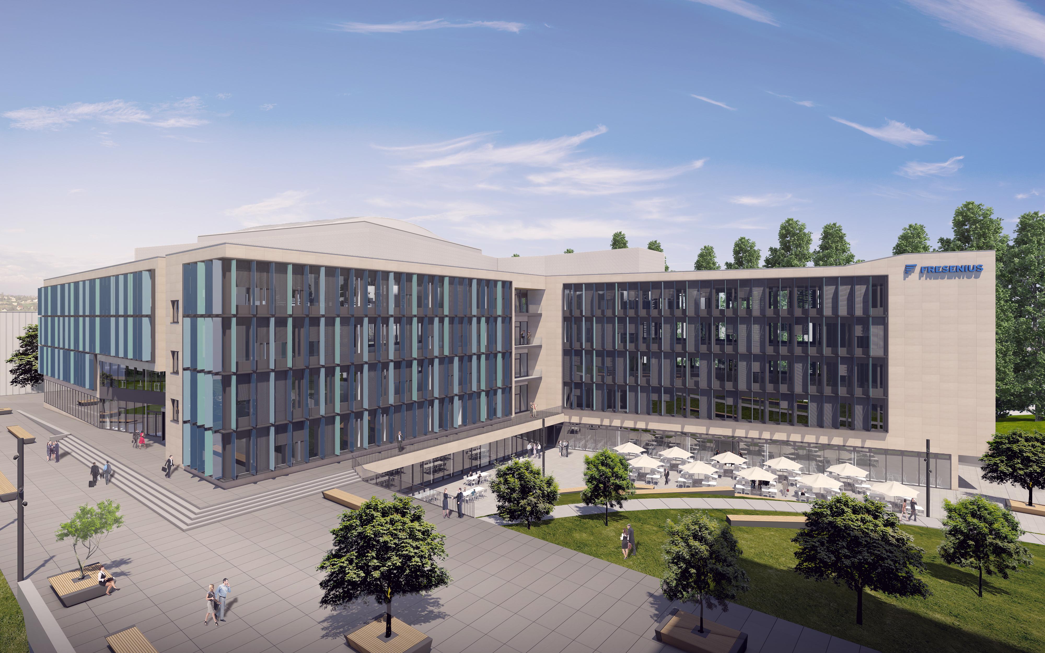 Neubau Bürogebäude mit Kantine und Tiefgarage EK3, Bad Homburg